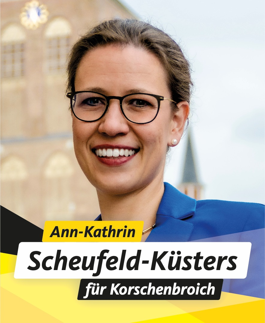 Für Sie im Stadtrat Ann-Kathrin Scheufeld-Küsters