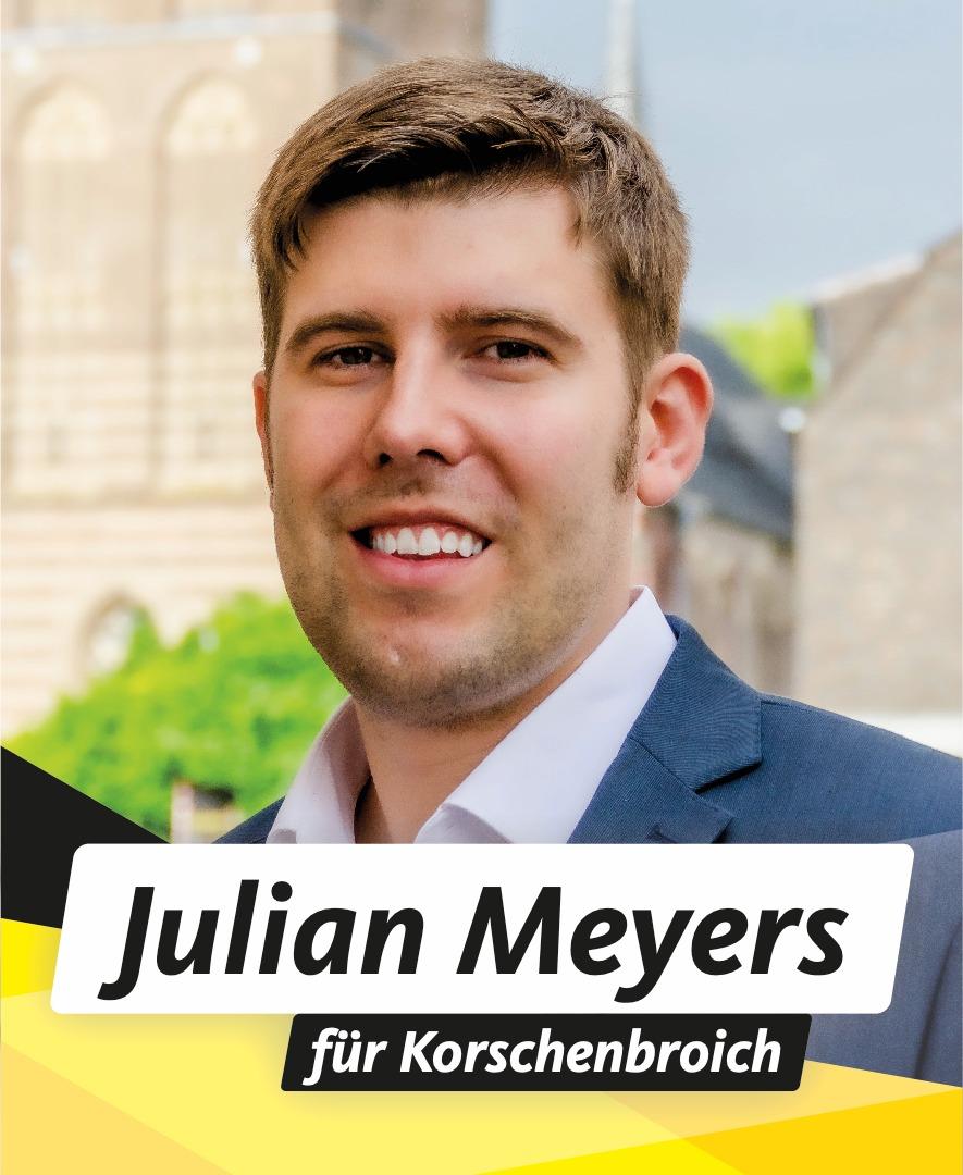 Für Sie im Stadtrat Julian Meyers