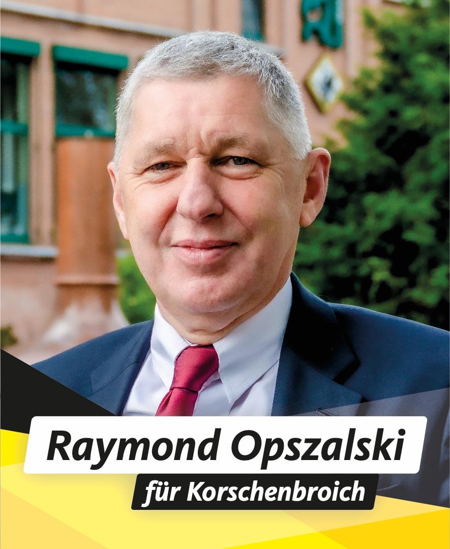 Für Sie im Stadtrat Raymond Opszalski